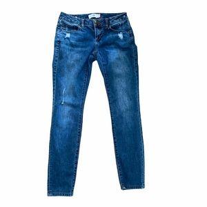 CAbi Distressed Skinny Jeans